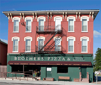 Brothers Pizza Centre Hall